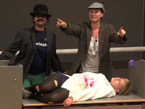 Mord im Max Planck-Institut!