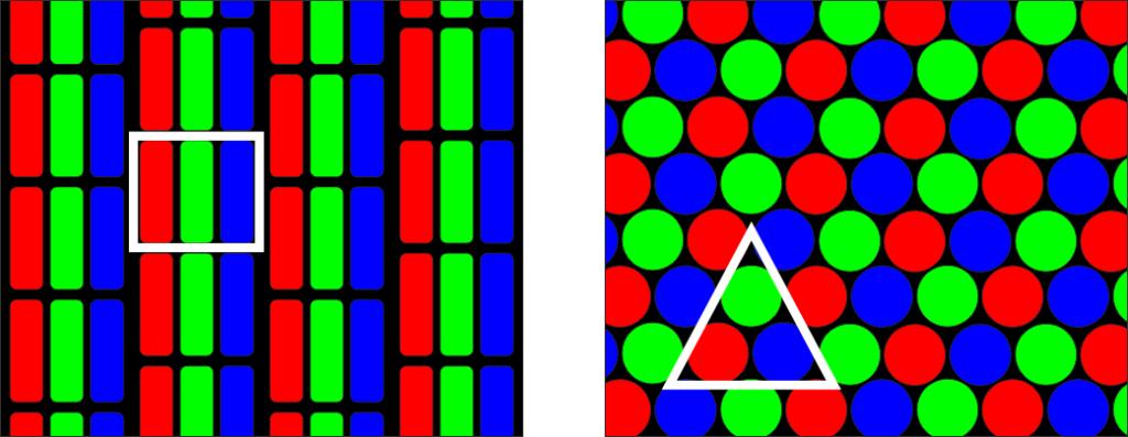 RGB vs. CMYK: tube monitors
